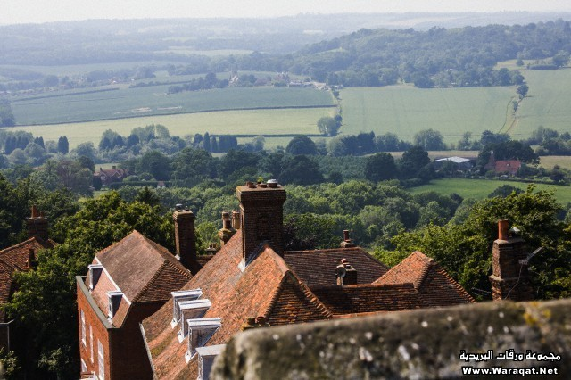 Goudhurst Village and Countryside, Kent, UK