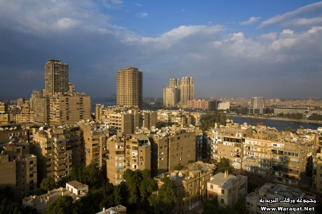 Zamalek neighborhood in Cairo