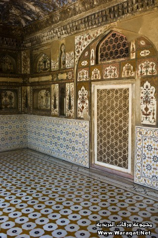 Pietra Dura at Tomb of Etimad Ud Doulah, Agra, India