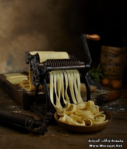 Antique pasta maker