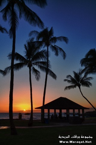 Sunset on the Westside of Maui