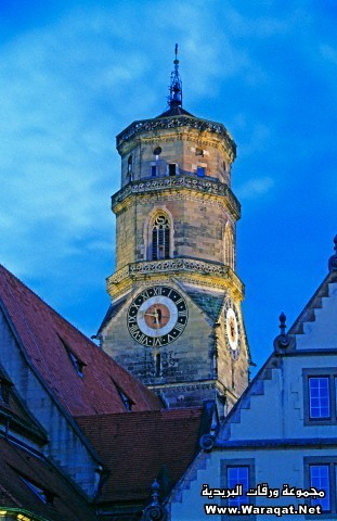 Tower of Collegiate Church (Stiftskirche)