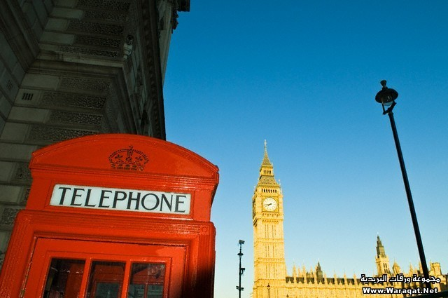 Telephone Booth with Big Ben in the Background
