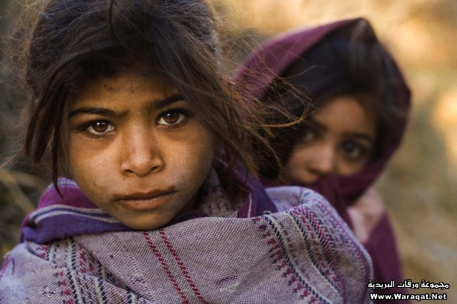 Sisters who belong to the Dalit caste